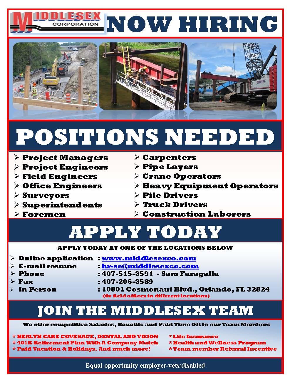 Job Flyer Hourly 01202016 English General Lake Tech S Career