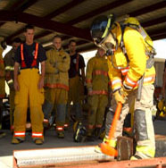 6 Fire Fighter Advanced Training