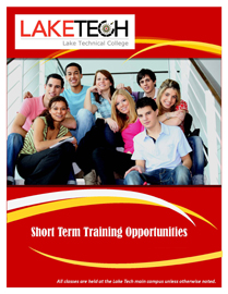 Pages from Corporate and Community Training Short Term Fall 2016 Short Term Classes