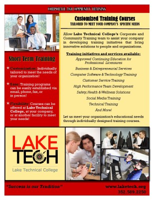 Short Term Training - Customized Courses - 2016