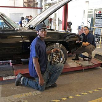 automotive service school