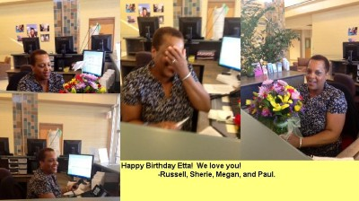 Etta's Birthday Surprise!