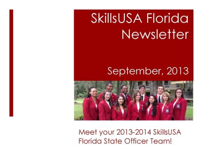 skillsusa 1e Page 1 400x297 Friday Update 10/4/13