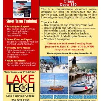 Short Term Training Boating Skills and Seamanship 2017 18 330x330 Short Term Classes