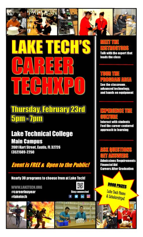 Career TechXpo Feb 23 2017 484x800 Lake Techs Career Techxpo   See What Were All About!