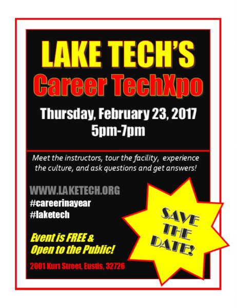 Career Techxpo Feb 23 2017 462x600 Friday Update 2/3/17