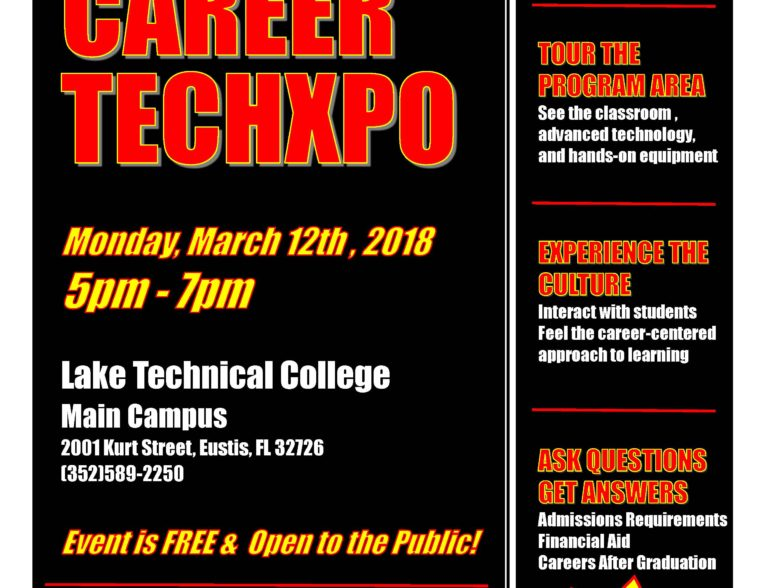 Career TechXpo – March 2018