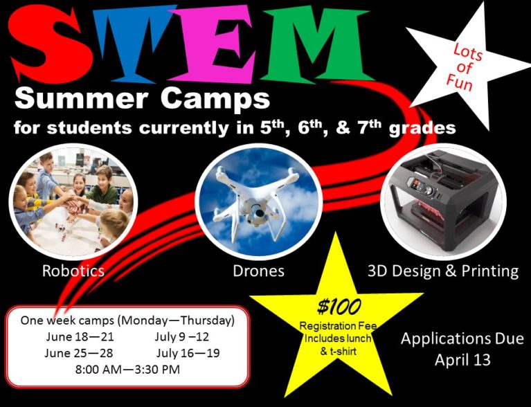 STEM Summer Camps Picture for the Website