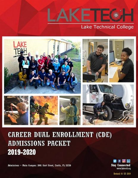 2019 20 Career Dual Enrollment Packet Lake Tech Page 1 464x600 Steps to Apply