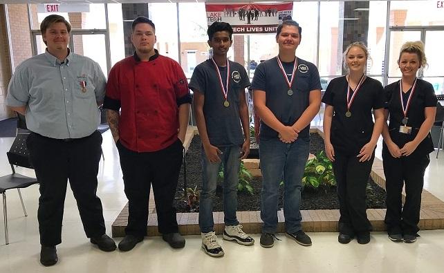 SkillsUSA1 031119 1 SkillsUSA Regional Winners from Lake Tech 2019