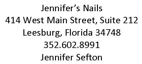 Jennifers Nails Proud Partners