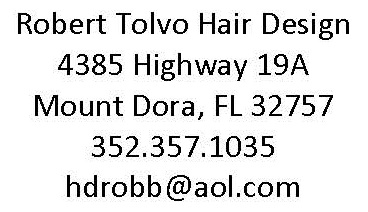 Robert Tolvo Hair Design Proud Partners