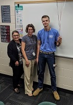 091819 Student of the Month September deSwardt1 cr September 2019   Students of the Month