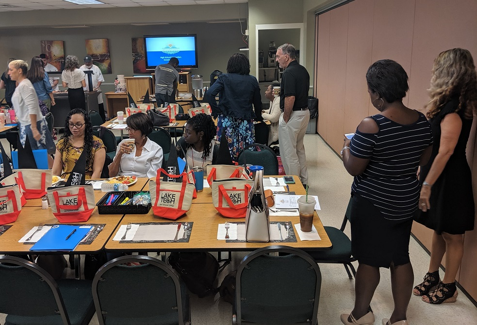 counselor breakfast 4 101119 In the Community 10/11/19