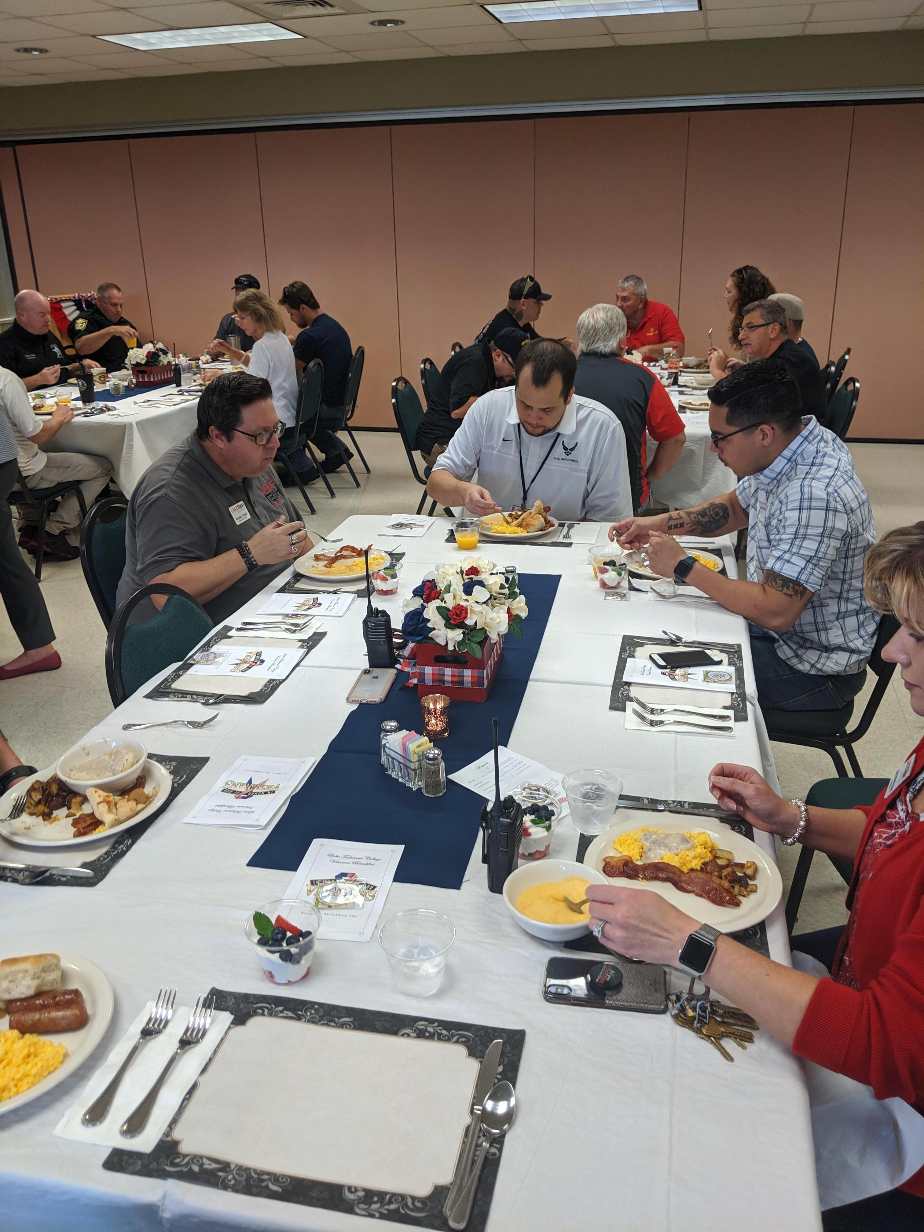 Veterans Breakfast12 110819 e1573573685596 Student Affairs 11/08/19