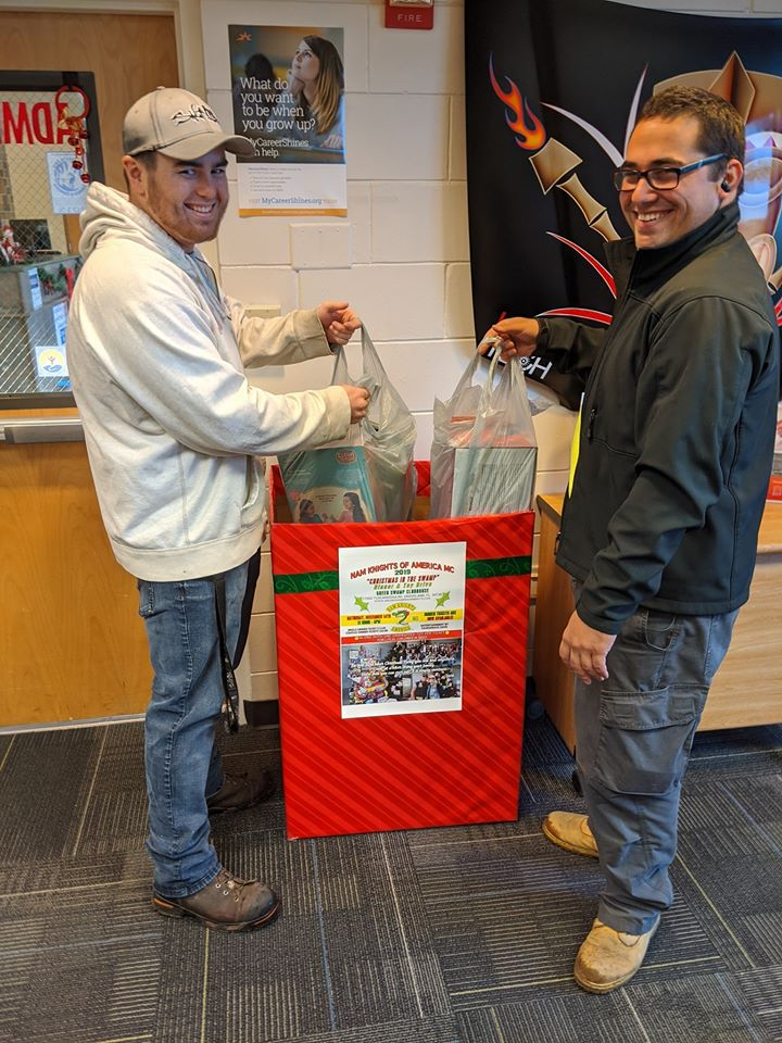 Nam Knights toy drive 3 010220 Student Affairs 12/20/19