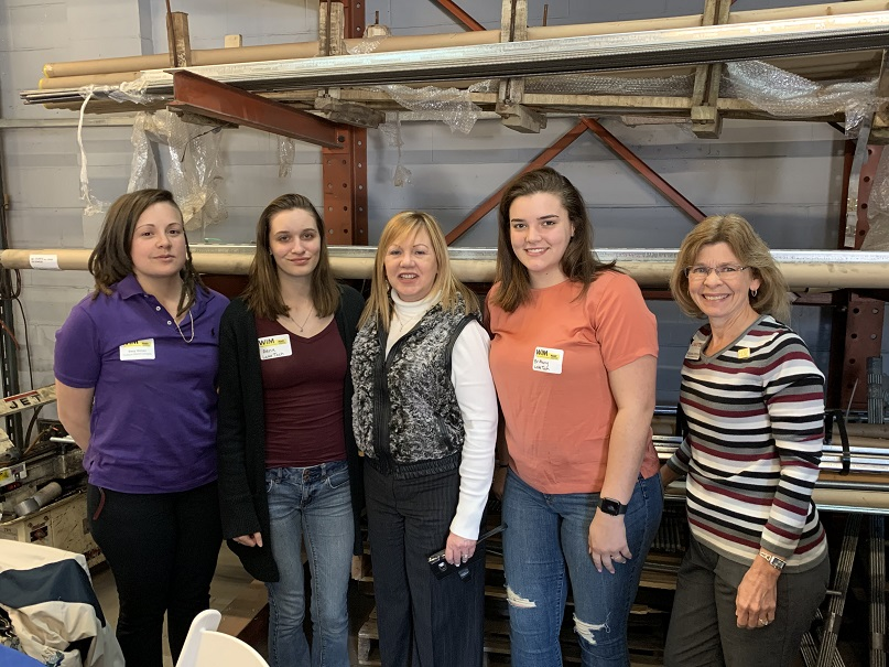 Women in Manufacturing1 022820 On Campus and In the Community 02/28/20