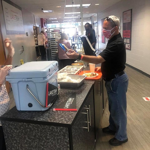Ice Cream Social 3 082120 On Campus and in the Community ~ 08/21/20