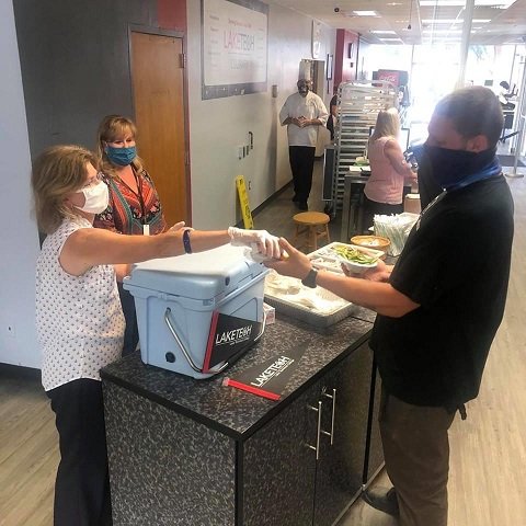 Ice Cream Social 7 082120 On Campus and in the Community ~ 08/21/20