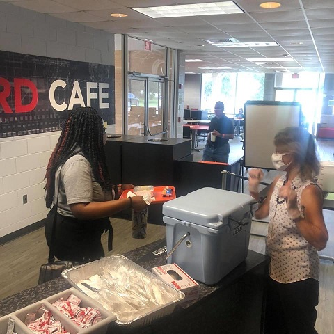 Ice Cream Social 9 082120 On Campus and in the Community ~ 08/21/20
