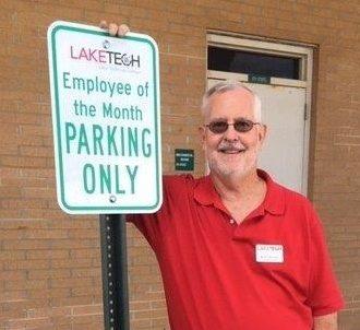 Employee of the month Bob Zehner 2 082820