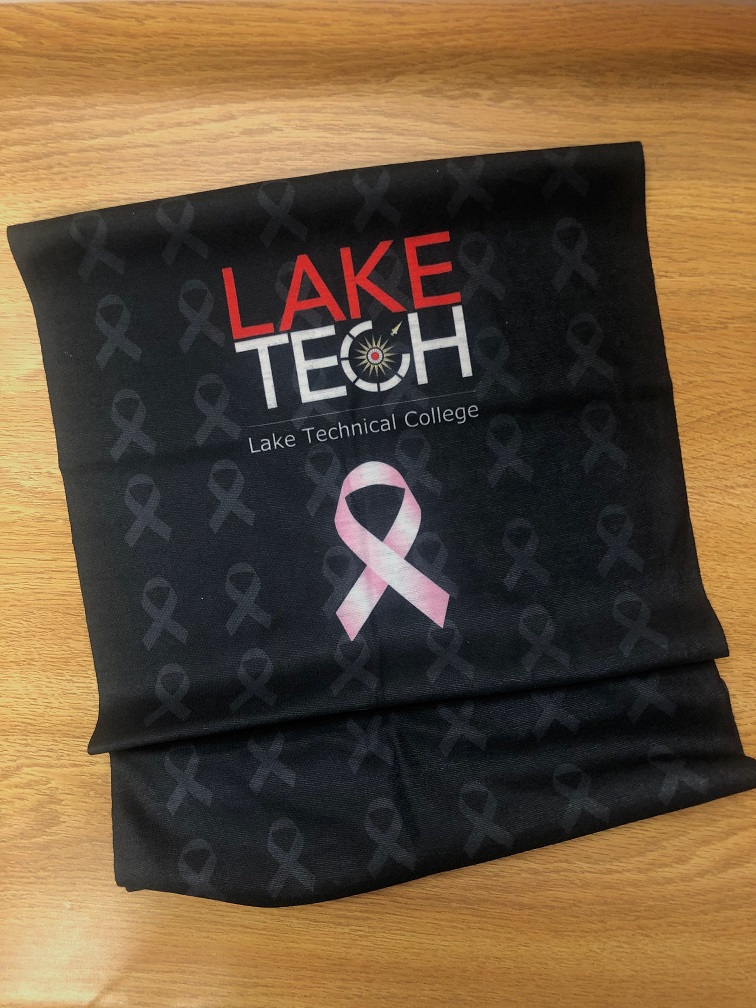 Breast Cancer Gaiter 100220 On Campus and in the Community ~ 10/02/20
