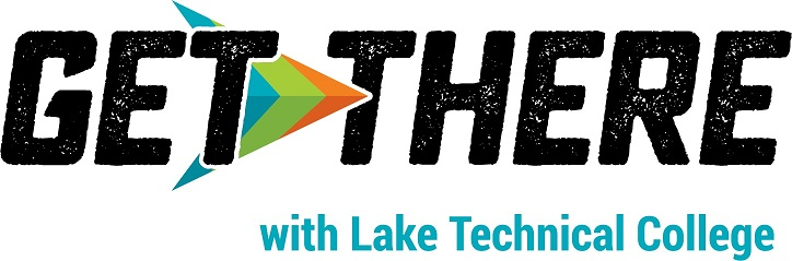 get there with lake tech logo