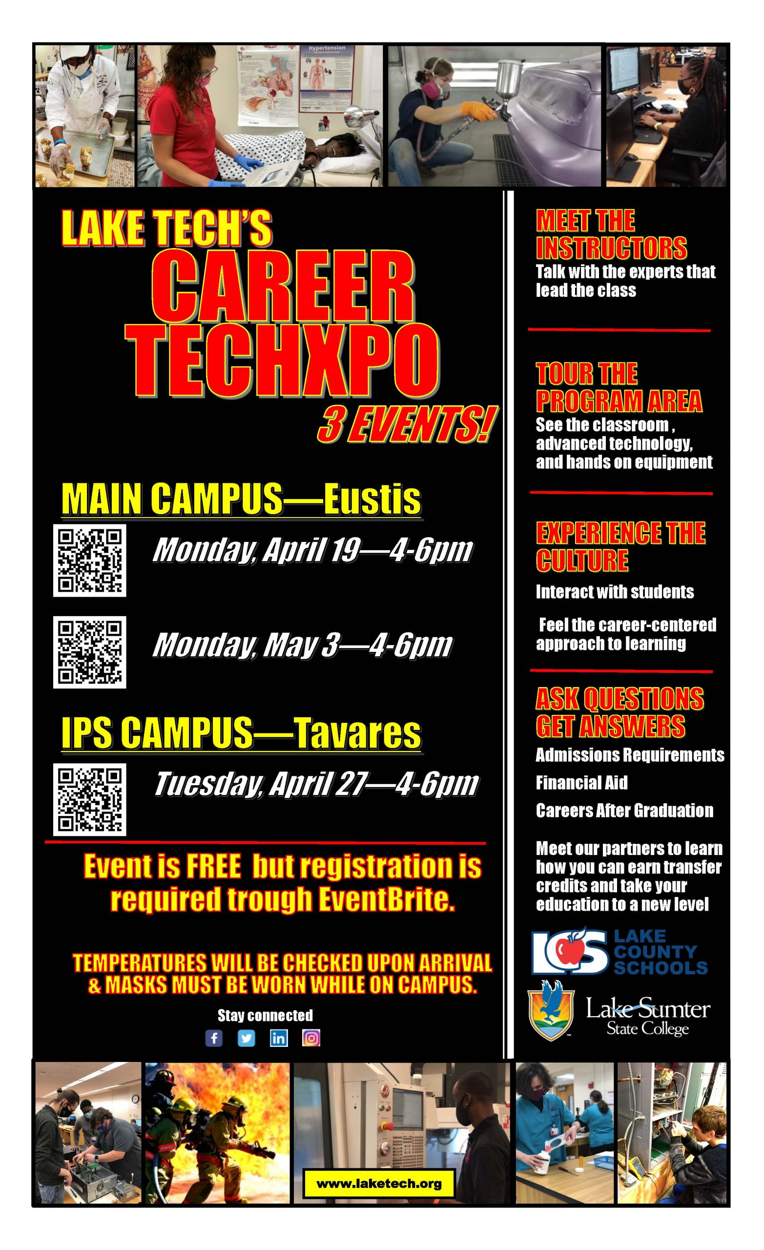 Career TechXpo Spring 2021 032621 scaled On Campus and in the Community ~ 03/26/21