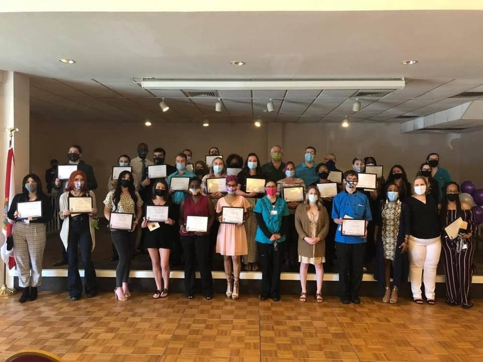 Honor Society Induction 1 032621 On Campus and in the Community ~ 03/26/21
