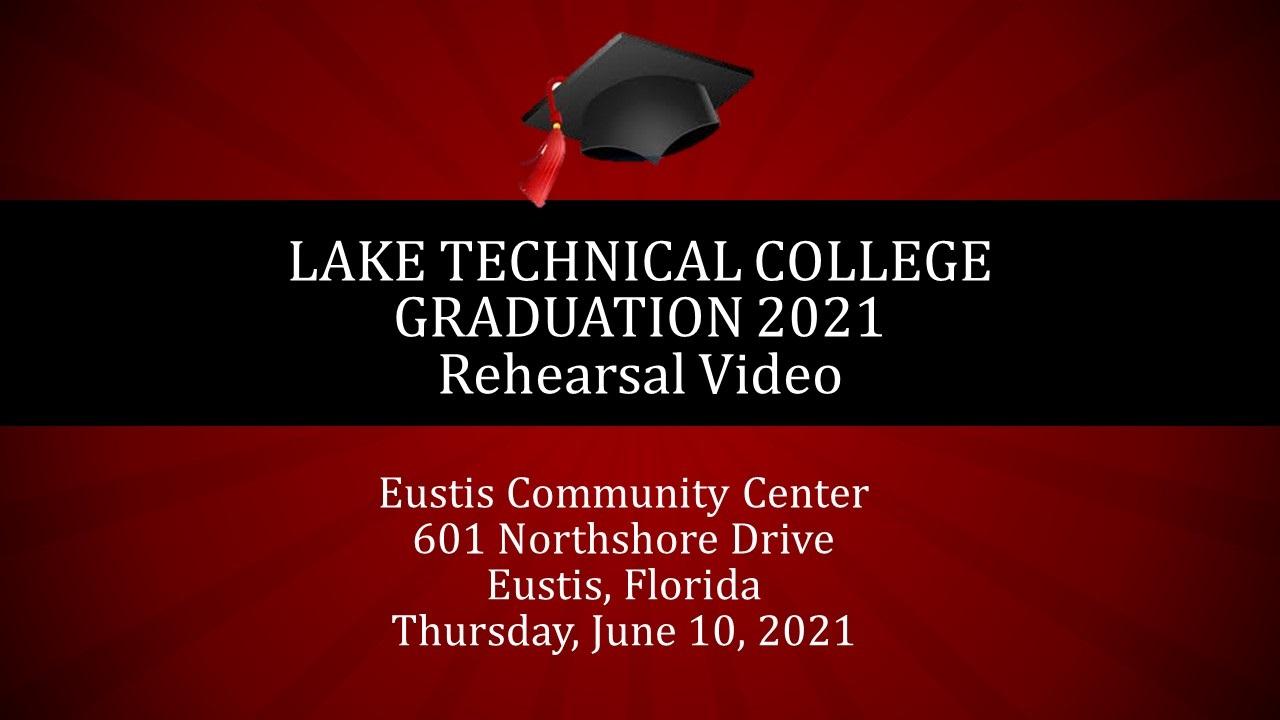 Graduation Rehearsal Video 051821 sr Graduation