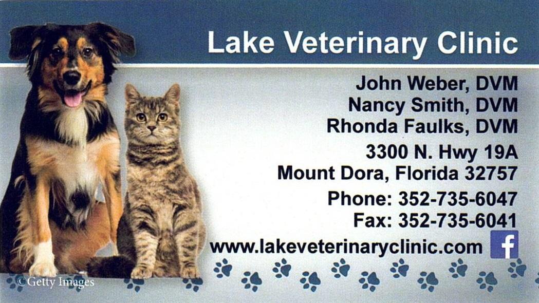 Lake Veterinary Clinic Logo 051321 Proud Partners