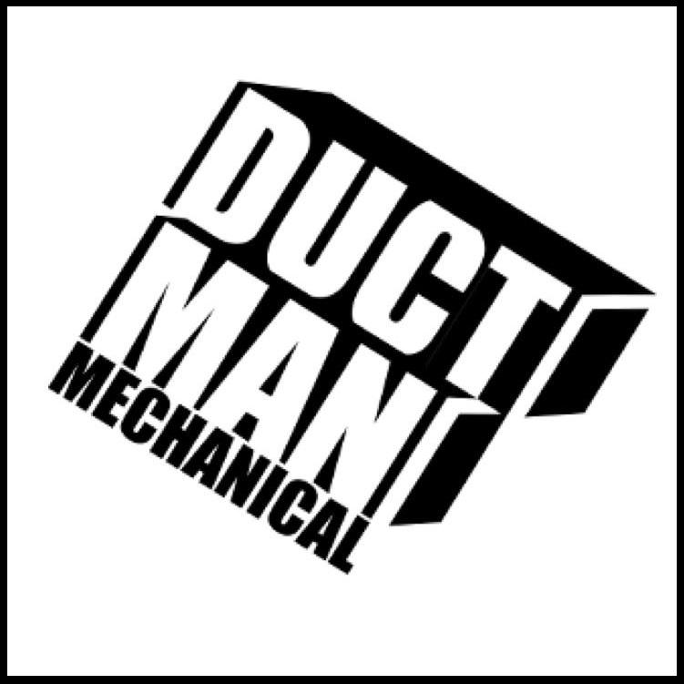Duct Man Mechanical Logo Proud Partners