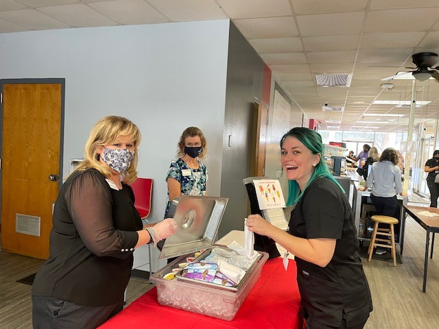 Ice Cream Social1 090621 On Campus and in the Community ~ 09/08/21